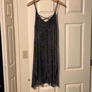 NWT Willow&Root washed dye strappy tunic tank